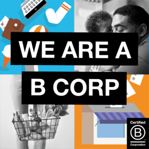 We are a B Corp - J S D A Inc